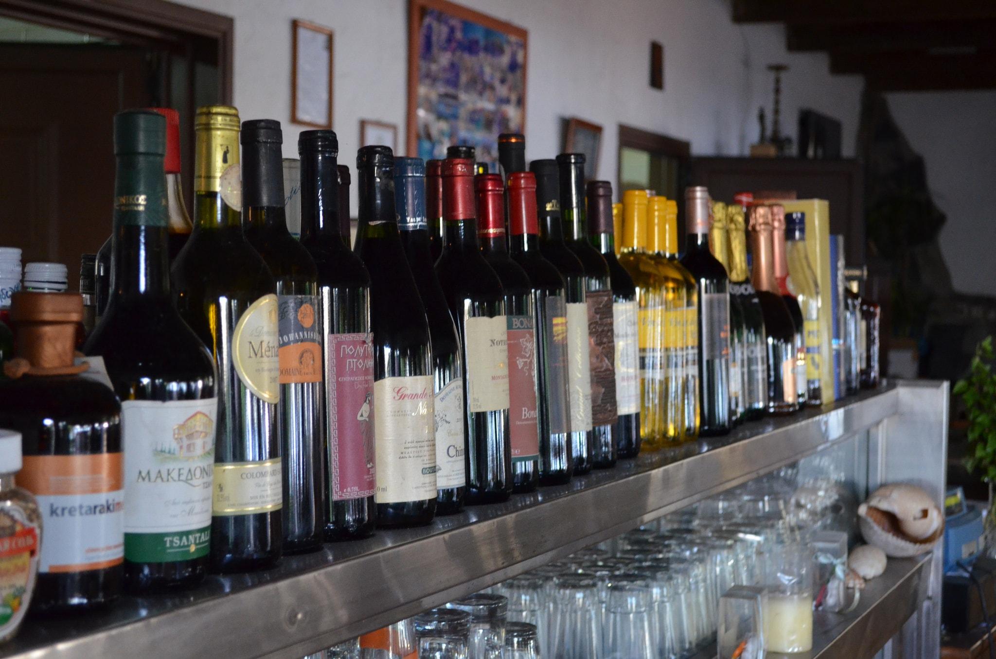 Ассортимент Греческого вина