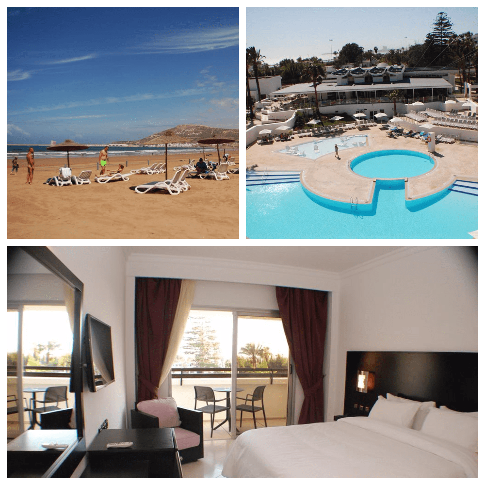 Les Almohades Beach Resort Agadir 4*