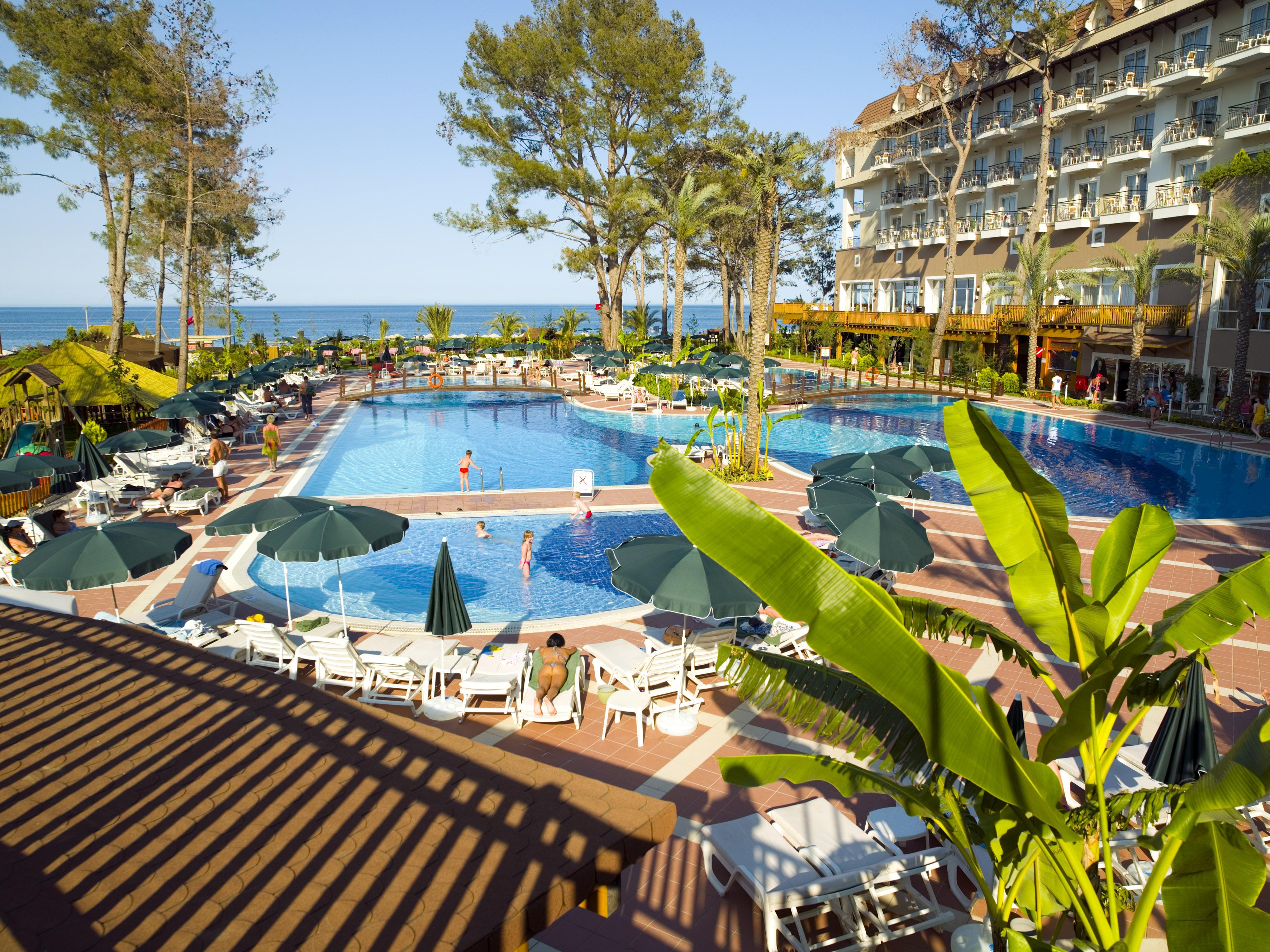 Топ-5 семейных отелей в Кемере